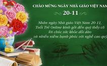 Cùng TTO gởi lời tri ân nhân ngày Nhà giáo Việt Nam