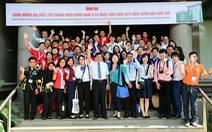 Đoàn đại biểu SSEAYP 2015 thăm báo Tuổi Trẻ
