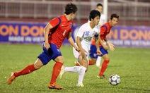 U-21 Hoàng Anh Gia Lai thua U-19 Hàn Quốc