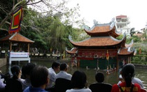 Khai trươngthủy đình mới tạiBảo tàng dân tộc học Việt Nam