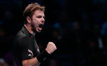 Wawrinka thắng Murray, lọt vào bán kết Giải ATP World Tour Finals