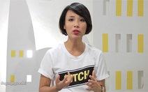 """VJ Thùy Minh: """"Những người chê BIT ăn nói vô học"""""""
