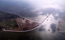 Khánh thành công trình giúp tàu 1.000 tấn vào cảng trên sông Hồng