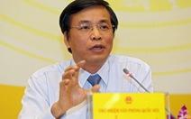 Giới thiệu ông Nguyễn Hạnh Phúc làm tổng thư ký Quốc hội