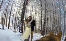 Xem video đám cưới do... chó cưng quay