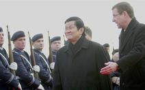 Ngày 25-11, Chủ tịch nước hội đàm với Tổng thống Đức