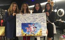 """Hoa hậu siêu quốc gia ủng hộ chương trình """"Ước mơ của Thúy"""""""