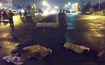 Truy tìm xe container cán chết hai người rồi bỏ trốn