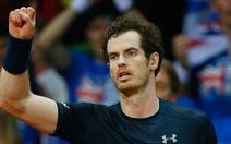 Điểm tin sáng 28-11: Murray giúp Anh tạm hòa Bỉ 1-1 ở chung kết Davis Cup