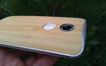 Cận cảnh smartphone vỏ tre của Motorola tại VN