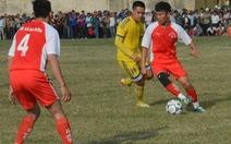 SLNA đá bóng gây quỹ vì bệnh nhân nghèo tại Quảng Bình