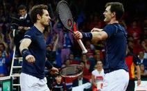 Điểm tin sáng 29-11: Anh em nhà Murray giúp Anh dẫn Bỉ 2-1 ở Davis Cup
