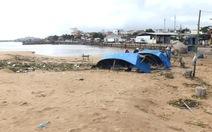 Cửa biển Đà Rằng dịch chuyển do sóng lớn