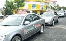 Đề nghị cho hãng taxi có dưới 50 xe hoạt động thêm 6 tháng