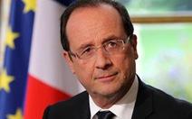 Sau khủng bố Paris, uy tín tổng thống Pháp tăng mạnh