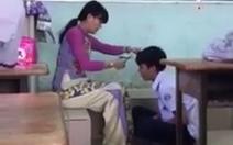 Clip cô giáo cắt tóc nam sinh tại lớp gây xúc động