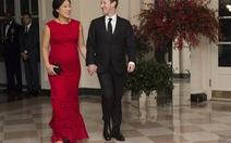 Lên chức bố, ông chủ Facebook hiến tặng 99% tài sản