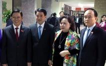 Phát biểu nhậm chức, chủ tịch Chung hứa hết lòng vì dân