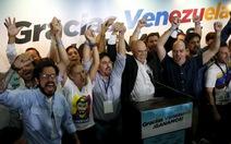 Phe đối lập Venezuela giành quyền kiểm soát quốc hội