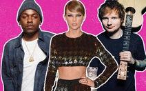 Grammy 2016:Kendrick Lamar 11 đề cử, Taylor Swift 7 đề cử