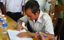 Ông Huỳnh Văn Nén đề nghị khởi tố người gây oan cho ông