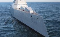 Mỹ bắt đầu thử nghiệm tàu khu trục siêu hiện đại trên biển