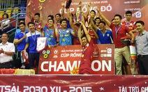 Điểm tin tối 10-12: Sanatech Khánh Hòa vô địch Giải futsal CLB doanh nhân 2030