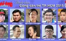 Bình chọn 10 gương mặt trẻ Việt Nam tiêu biểu năm 2015