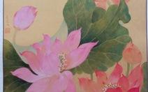 Cảm hứng từ sencủa họa sĩ Trần Lê Thúy Liên