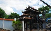Đại gia Đà Nẵng bắt đầu tháo dỡ biệt phủ