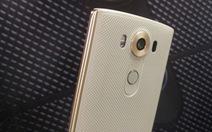 Smartphone cao cấpLG V10 hai màn hình ra mắt