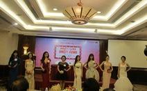 Kim Thanh Thảo bật khóc tại họp báo Ngôi sao điện ảnh 2015