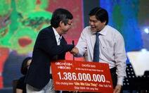 Giấc mơ đêm mùa đông gây quỹ1,386 tỉ đồng cho bệnh nhi