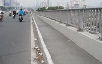 Cầu Sài Gòn đẹp mà rác nhiều ngó cũng kỳ