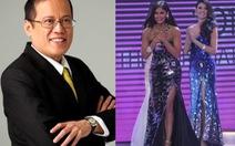 Hoa hậu hoàn vũ 2015 là bạn gái Tổng thống Philippines?
