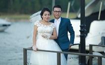 Anh Thơ làm cô dâu, hát Đường tình đôi ngã cùng Linh Nguyễn