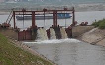 Sẽ có 3 đợt lấy nước trong vụ Đông Xuân 2015-2016