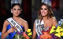 """Miss Universe """"lộn vương miện"""", cộng đồng mạng cười không ngớt"""