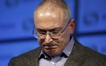 Nga truy nã quốc tế cựu tỷ phú Khodorkovsky