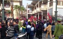 Có nhóm người tuyên truyền để học sinh Ninh Hiệp bãi khóa