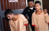 Hai nghi can Myanmar tố cảnh sát Thái Lan bức cung