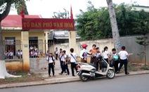 Lớp học tại... trụ sở tổ dân phố