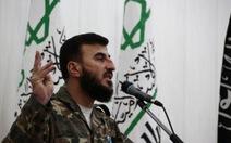 Lãnh đạo phe nổi dậy Syria thiệt mạng trước đàm phán hòa bình