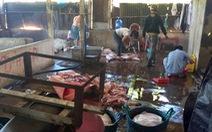 Bắt quả tang lò mổ heo lậu giữa trung tâm TP.Biên Hòa