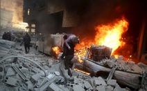 Nga đụng độ tứ bề tại Syria