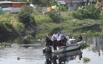 Nhảy sông Vàm Thuật cứu bạn, một thiếu niên mất tích