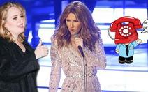 Clip Celine Dion hát lại ca khúc Hello của Adele