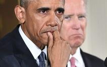 Tổng thống Obama rơi nước mắt kêu gọi kiểm soát súng đạn