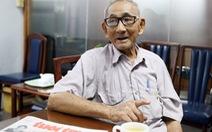 """""""Ông Bụt"""" 84 tuổi chạy xe đạp góp tết cho bệnh nhân nghèo"""