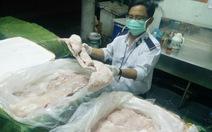 TP.HCM sẽsử dụng mã vạch quản lýnguồn gốc thịt heo